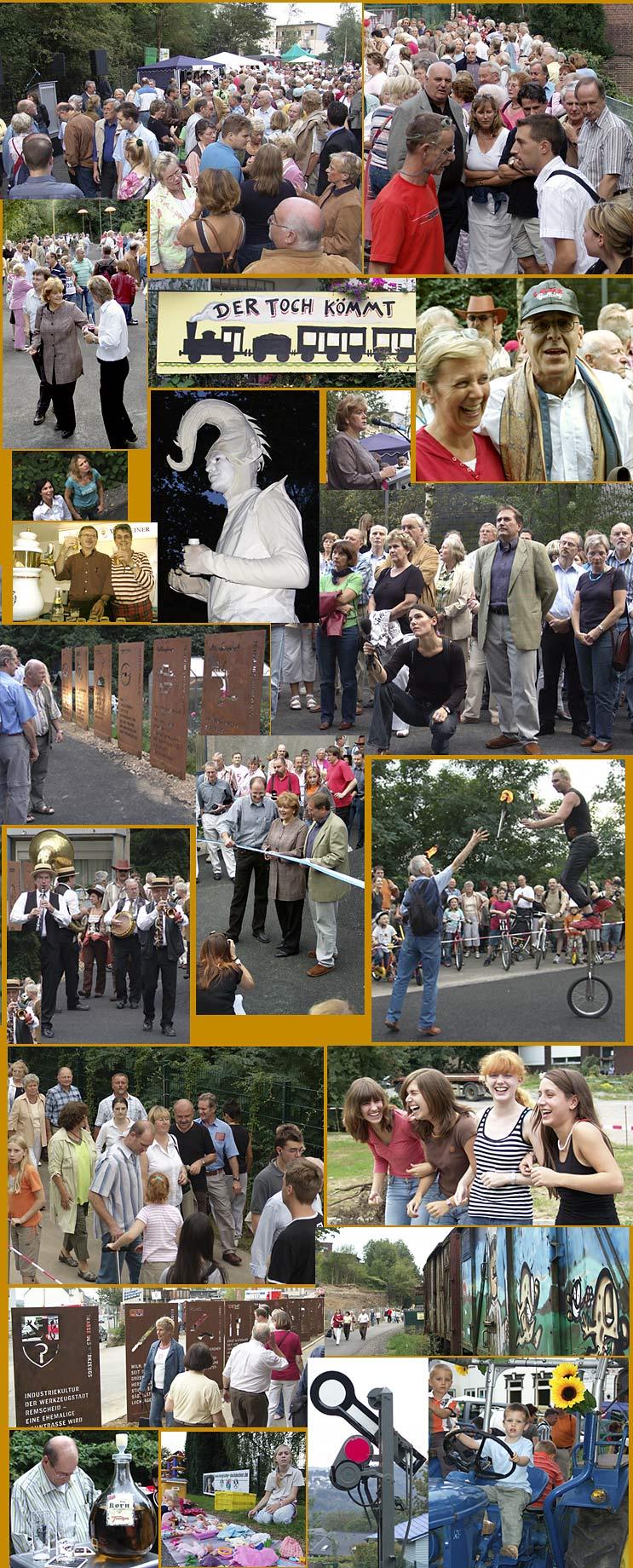 """Einweihung der """"Trasse des Werkszeugs"""" am 23.9.2006"""