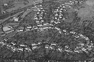 Luftbild von der Bökerhöhe aus den 70-er Jahren des vorigen Jahrhunderts.