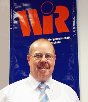 Gunther Brockmann, der Oberbürgermeisterkandidat der W.i.R. Foto: Lothar Kaiser