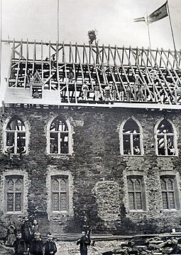 Das Richtfest 1891.