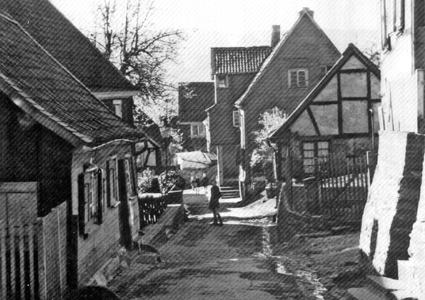 """Erster """"historischer Rundgang auf dem Büchel""""   Waterbölles  Erster """"histo..."""