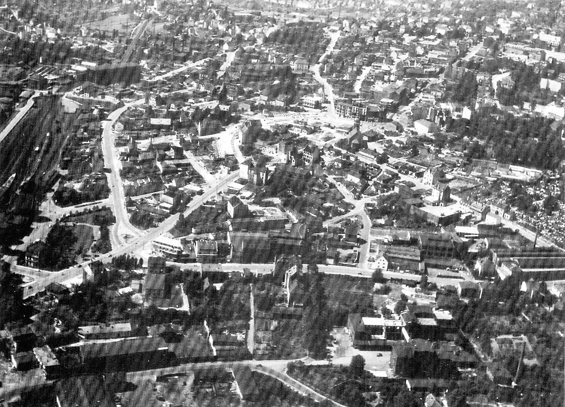 Die Remscheider Innenstadt nach Kriegsende   Waterbölles  Die Remscheider...