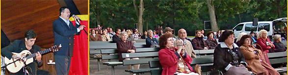Trotz freier Sitzbänke waren die Veranstalter zufrieden. Fotos: Lothar Kaiser