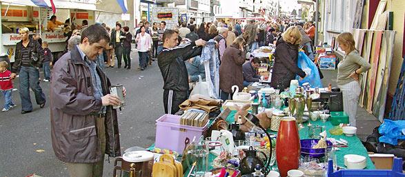 6. Remscheider Herbstmarkt bei bestem Wetter. Foto: Lothar Kaiser
