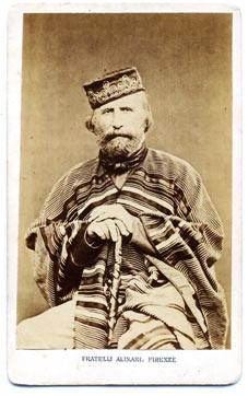 Porträt von Giuseppe Garibaldi