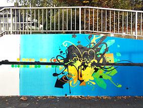 Wie man sich gut gemachte Graffitis vorstellt. Foto: Lothar Kaiser