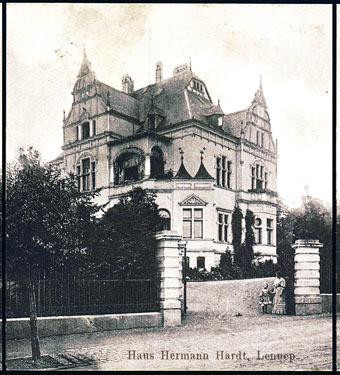 Haus von Hermann Hardt jun. an der Rotdornallee.