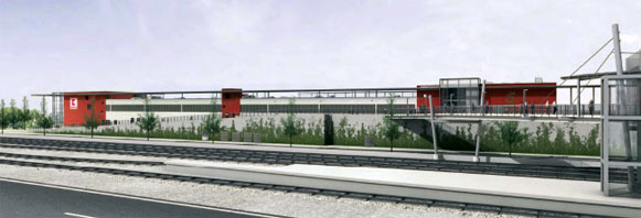 Die Planskizzen stellte frendlicherweise der Bahnhofsinvestor HBB zur Verfügung.