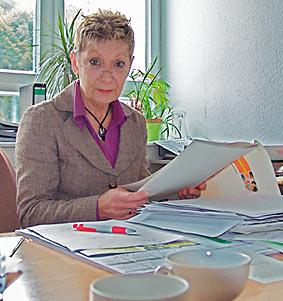 Heike Hildebrandt.  Foto: Lothar Kaiser