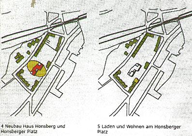 Honsbergs grüne Mitte, wie sie Prof. Lorenzen aus Kopenhagen sieht.