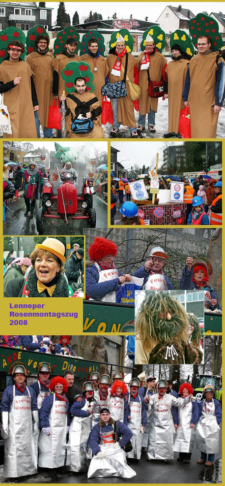 Kleine Foto-Nachlese vom Karneval 2008 in Remscheid ...  Kleine Foto-Nac...