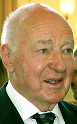 Remscheid Ehrenbürger Gerd Lemmer. Foto: Lothar Kaiser