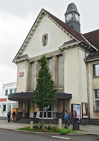 Der alte Lenneper Bahnhof. Fotos: Lothar Kaiser