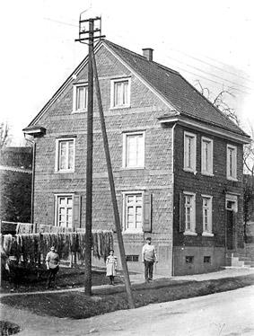 Das Wohnhaus der Seiler-Familie Neuhaus an der Schwelmer Straße.