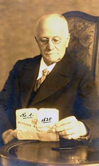 Seniorchef Heinrich Wilhelm Neuhaus