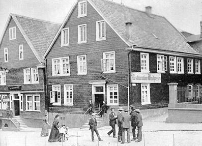 Die 'Restauration Windgassen', später der 'Kölner Hof' in Lennep.