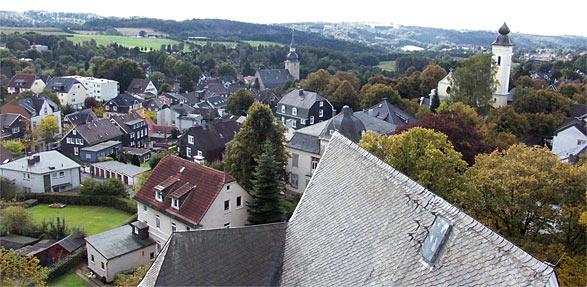 Blick vom Rathaus Lüttringhausen