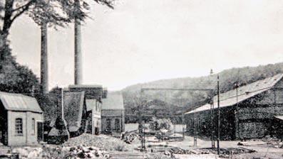 Kleusers Hammerwerk 1920. Repro: G. Schmidt