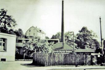Firma Grimm Firma Grimm in den 50er Jahren.
