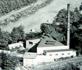 Ambossfabrik Kuhler in den 50er Jahren. Foto: G. Schmidt
