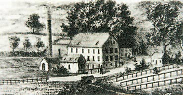 Die Leyermühle 1870 Repro von Lenneper-Koch