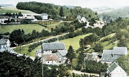 Leyermühle – Ortschaft 1910 Sammlung: R. Renelt