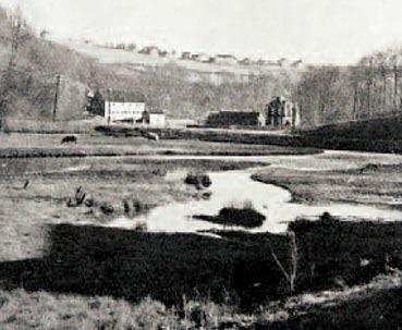 Leyermühle – Ortschaft 1890 Sammlung: G. Schmidt