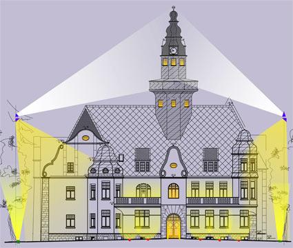 Das Lichtkonzept für das Rathaus Lüttringhausen