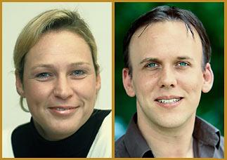 Alexandra Becker und Daniel Vossems