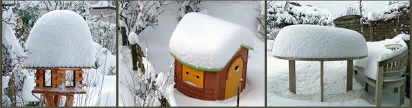 Schneehauben im Winter 2010 auf dem Hohenjhagen. Foto: Lothar Kaiser