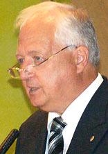 Holger Schödder, Präsident des Lions Club Remscheid. Foto: Lothar Kaiser