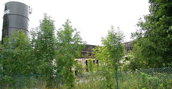 Die alte Tierkörperbeseitigungsanstalt in Bergisch Born. Foto: Lothar Kaiser
