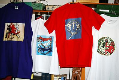 Demnächst im Tuchmuseum: Kunst auf T-Shirts