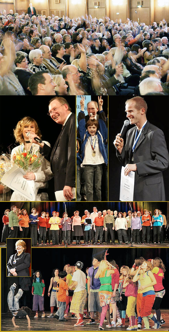 Ehrung der 'Sportler des Jahres' im Teo Otto-Theater. Foto: Jochen Wende