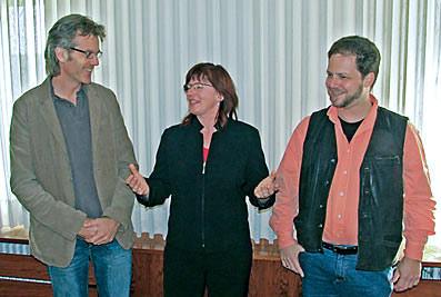 Die Sprecher des Runden Tisches 50+: Tassilo Mesenhöller, Lydia Schwertner und Axel Mersmann. Foto: Lothar Kaiser