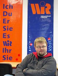 Der neue  wirtschaftspolitische Sprecher der W.I.R.: Thomas Brützel. Foto: Lothar Kaiser