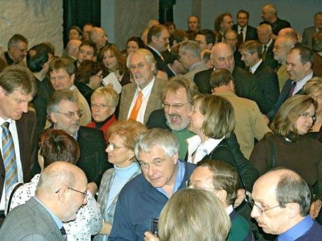 Bürgerempfang gestern in der Klosterkirche. Foto: Lothar Kaiser