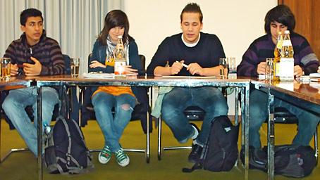 Der scheidende Jugendrat zog heute Bilanz. Foto: Lothar Kaiser