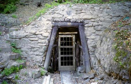 Der Eingang zum Jakobsstollen