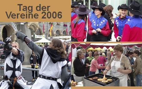 Der Tag der Vereine 2006 - Essen und Trinken satt !