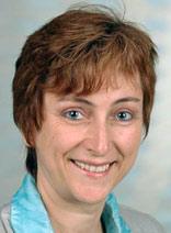 Kantorin Ursula Wilhelm.
