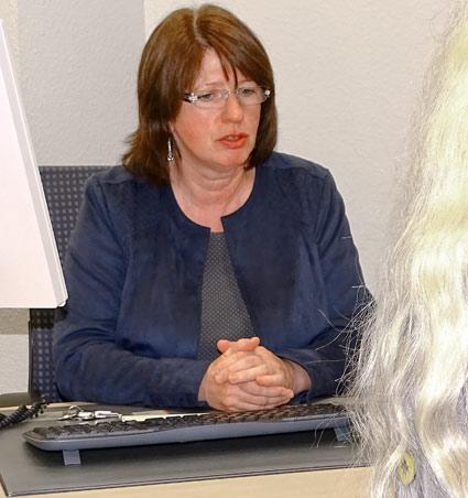 Beratungsstellenleiterin Lydia Schwertner. Foto: Lothar Kaiser